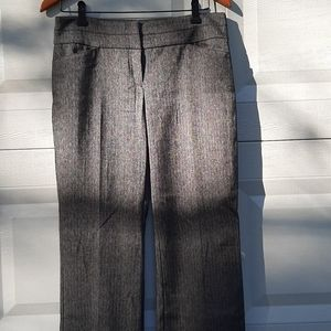 LOFT heather gray office pants size 0